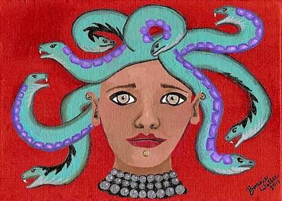Medusa  Original by B Waller