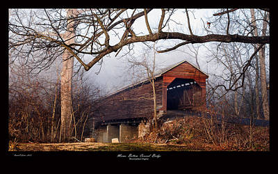David E Lester Photograph - Meems Bottom Bridge 7 by David Lester