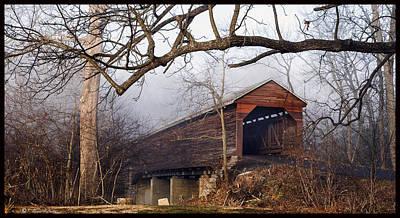 David E Lester Photograph - Meems Bottom Bridge 8 by David Lester
