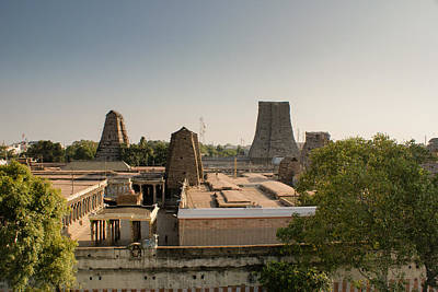 Meenakshi Temple Print by Helix Games Photography