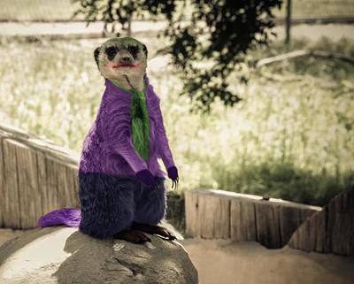 Heath Ledger Digital Art - Meer Joker by Randy Turnbow