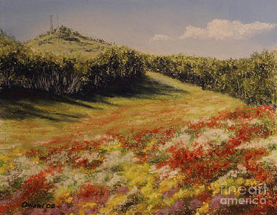 Constance Widen Painting - Melkow Trail  by Stanza Widen