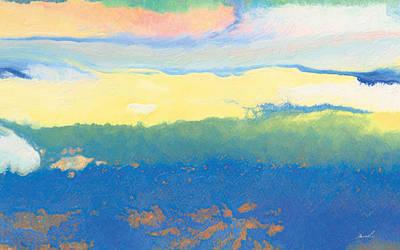 Mellow Light Print by The Art of Marsha Charlebois