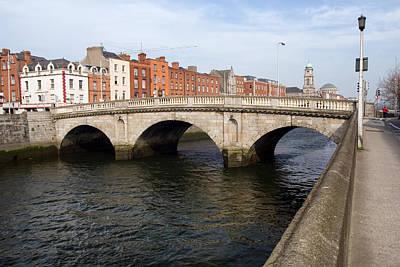 Mellows Bridge In Dublin Print by Artur Bogacki