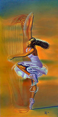 Ballet Painting - Melody Meridian by  Fli Art