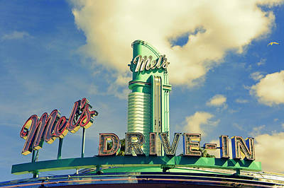 Mels Drive-in Photograph - Mel's by Laurie Perry