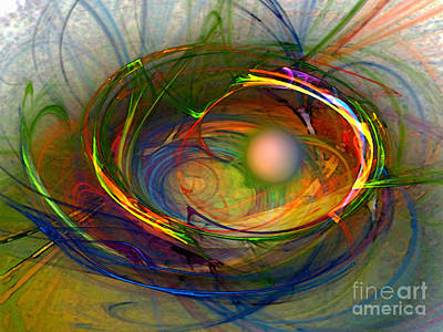 Fractal Digital Art - Melting Pot-abstract Art by Karin Kuhlmann