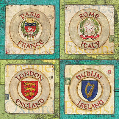 Dublin Painting - Melting Pot Patch by Debbie DeWitt