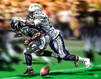 Melvin Ingram Original by Don Olea