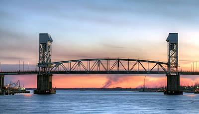 Memorial Bridge Print by JC Findley