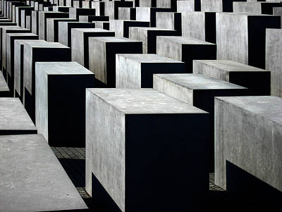 Memorial Photograph - Memorial To The Murdered Jews Of Europe by RicardMN Photography