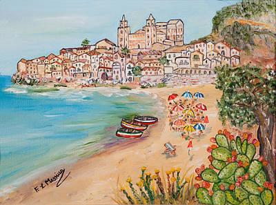 Sicily Painting - Memorie D'estate by Loredana Messina