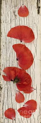Memories Of A Summer Vertical Print by Priska Wettstein