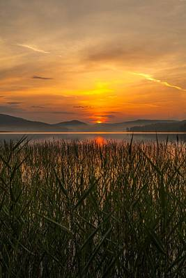 Sunset In Norway Photograph - Peace Of Mind by Rose-Maries Pictures