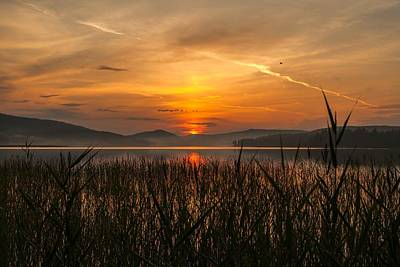 Sunset In Norway Photograph - Memories Of A Sunset by Rose-Maries Pictures