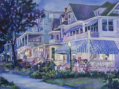 Asbury Park Painting - Memories Of Manchester by MG Ferguson