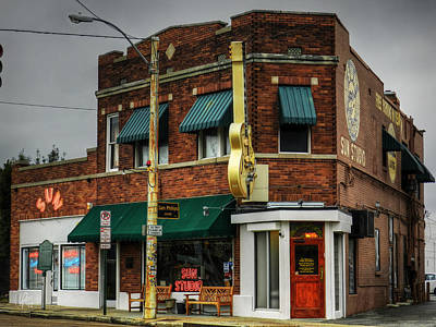 Rhythm And Blues Photograph - Memphis - Sun Studio 003 by Lance Vaughn