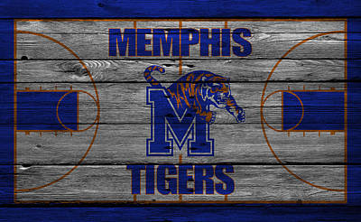 Memphis Tigers Print by Joe Hamilton