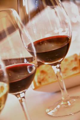 Mendoza Wine Tasting - Malbecs Print by Kevin Bain