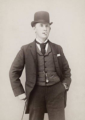 Dickson Photograph - Men's Fashion, C1890 by Granger