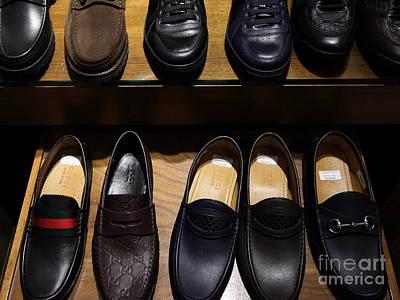 Men Shoe Photograph - Men's Shoes - 5d20644 by Wingsdomain Art and Photography