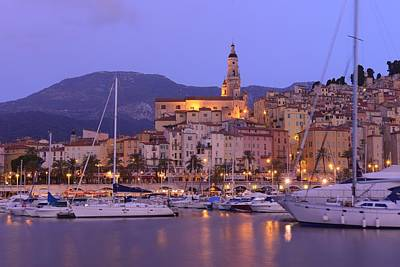 Menton Photograph - Menton by Christian Heeb