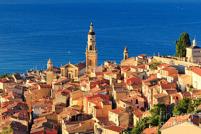 Menton Photograph - Menton Cote D'azur France by Matteo Colombo