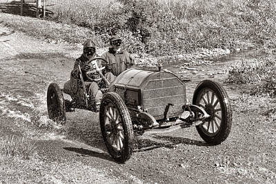 Country Dirt Roads Photograph - Mercer Raceabout by Olivier Le Queinec