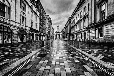 City Center Photograph - Merchant City Glasgow by John Farnan