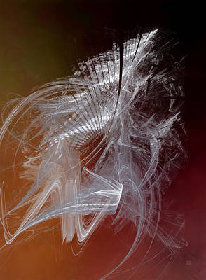 Abstract Photograph - Mercury In Capricorn - Cardinal Earth by Menega Sabidussi