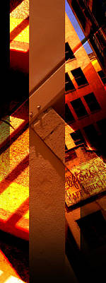 Architecture Photograph - Merged - Orange City by Jon Berry OsoPorto
