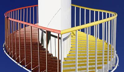 Merging Steps Print by Robert Woodward