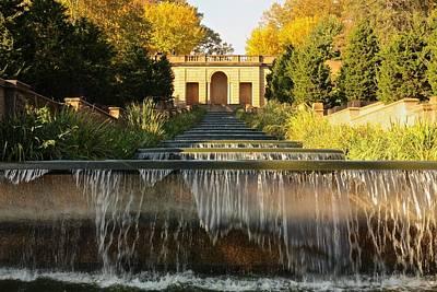 Meridian Hill Park Waterfall Print by Stuart Litoff