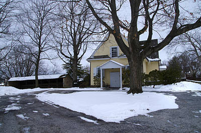 Merion Meeting House - Narberth Pa Print by Bill Cannon