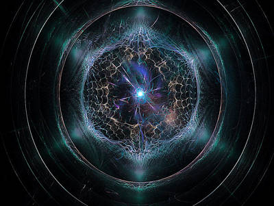 Merkaba Digital Art - Merkaba Mitosis by Andrew Norris Thompson