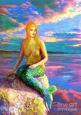 Mermaid Magic Print by Jane Small