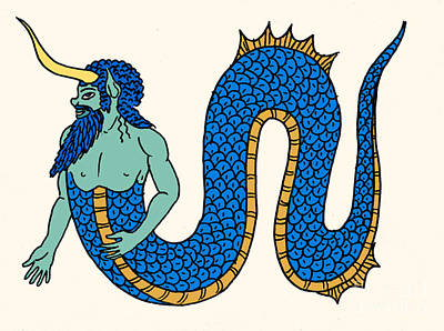 Merman Print by Science Source