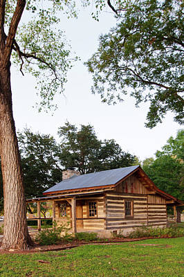 Log Cabin Photograph - Merriman Cabin Historic Structure by Larry Ditto