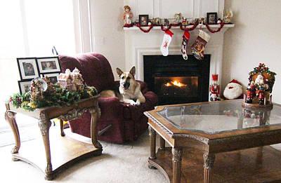Merry Christmas Tara Original by Linda Ritlinger