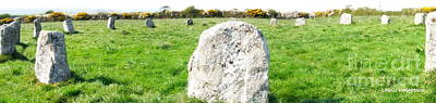 Merry Maidens Stone Circle Cornwall Print by Lainie Wrightson