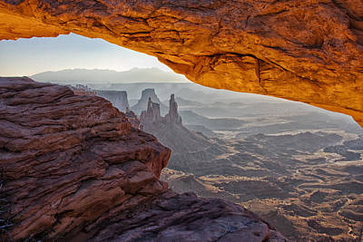 Southern Utah Photograph - Mesa Arch by Mark Kiver