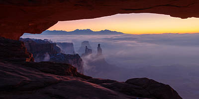 Mesa Mist Print by Chad Dutson