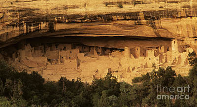 Mesa Verde Home Of The Ancients Print by Bob Christopher