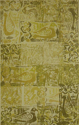 Abstract Painting - Mesopotamia II by Ousama Lazkani
