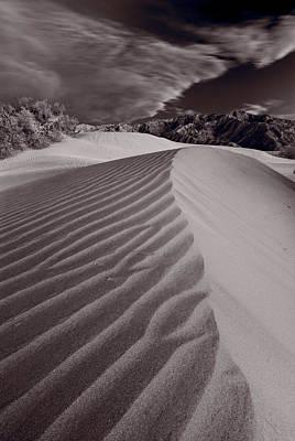 Mesquite Dunes Death Valley B W Original by Steve Gadomski