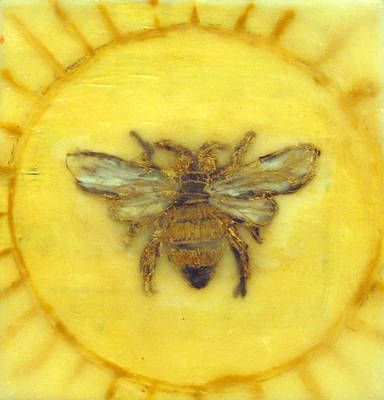 Fertility Painting - Message Of The Bees 3 by Janelle Schneider
