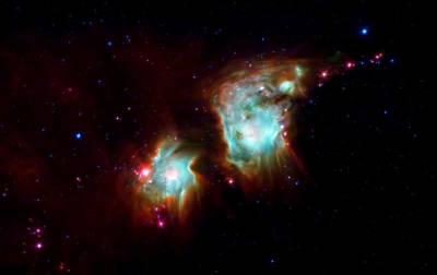 Messier 78 Star Formation Print by The  Vault - Jennifer Rondinelli Reilly