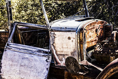 Metal And Rust Print by Joseph S Giacalone