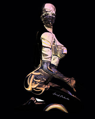 Rhythm And Blues Digital Art - Metal Nude Dude V 1 by Sir Josef - Social Critic - ART