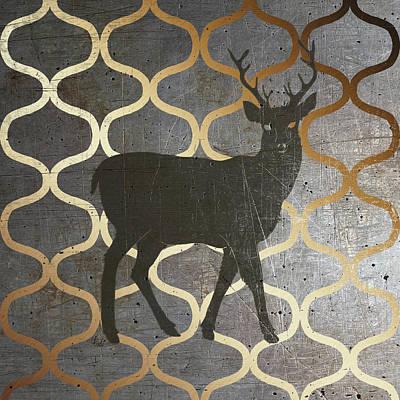 Metallic Nature I Print by Andi Metz